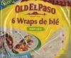 6 wraps de blé nature - Prodotto