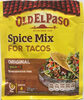 Spice Mix for Tacos - Product