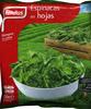 """Espinacas en hojas congeladas """"Findus"""" - Prodotto"""