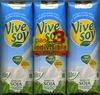 """Bebida de soja """"ViveSoy"""" Natural. Pack de 3 - Product"""