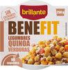 Benefit legumbres quinoa con verduras - Product