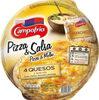 Pizza quesos gouda, cheddar, mozzarella y manchego - Producto