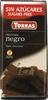 Tableta de chocolate negro edulcorado 52% cacao - Product