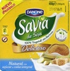 Postre de soja Savia natural con azúcar de caña integral - Product