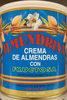 Crema de almendras con fructosa - Product