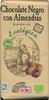 Tableta de chocolate negro con almendras 73% cacao - Producto