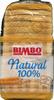 Pan de molde natural 100% - Producto