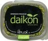 Germinados frescos de daikon - Producto