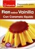 Preparado para hacer flan sabor vainilla con caramelo líquido - Producto