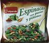 Espinacas con pasas y piñones - Product