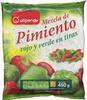 Mezcla de pimiento rojo y verde en tiras - Product