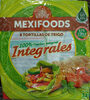 8 tortillas de trigo integrales - Prodotto