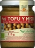 Paté vegetal de tofu y miso - Producte