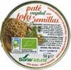 Paté vegetal con tofu y semillas - Product