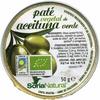 Paté vegetal de aceitunas ecológico - Producto