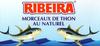 Morceaux de thon au naturel - Product