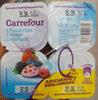 Yogures desnatados con frutos rojos - Producto