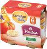 Tarrito 6 frutas - Product
