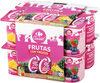 Yogur 00% Con Frutas (Fresa, Piña Y Fdb) - Producto