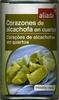 Alcachofas de alcachofa en cuartos - Product