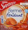 Sveltesse Fermé & fondant caramel 4 x 125 g - Produit