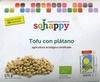 "Tofu ecológico ""Sojhappy"" Con plátano - Producte"