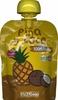 Puré de frutas piña y coco - Produit