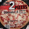Pizza tomate y queso - Producte