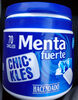 Chickles menta - Producto