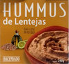 Hummus de lentejas - Producte