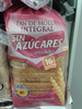 Pan de molde integral sin azúcares añadidos - Producte