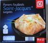 Paniers Feuilletés Saint-Jacques* (x 4), Surgelés - Produit