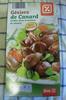 Gésiers de Canard, Confits dans la graisse de canard - Product