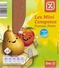 Les mini compotes Pomme Poire - Produit