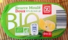 Beurre moulé doux bio (82% MG) - Produit