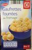 Gaufrettes fourrées au fromage - Produit