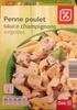 Penne poulet, sauce champignons, Surgelées - Product