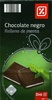 Chocolate negro relleno de menta - Producte