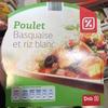 Poulet Basquaise et riz blanc - Product