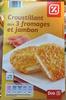 Croustillant aux 3 fromages et jambon - Product