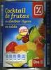 Mezcla de frutas en almíbar - Product
