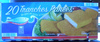 20 Tranches Panées de filet de Colin d'Alaska, Surgelées, Préfrites - Product