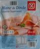 Blanc de Dinde (Qualité Supérieure) 4 Tranches - Produit