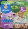 Yogur bífidus con trozos, fibra y muesli 0.4% - Producto