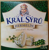 Král sýrů Hermelín Zelený pepř - Product