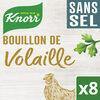 Knorr Bouillon de Volaille Sans Sel x8 - Prodotto