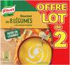 Knorr Soupe Douceur de 8 Légumes à la Crème Fraîche 2x50cl - Product