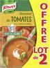 Knorr Douceur de Tomates à la Crème Fraîche Lot 2x1L - Produit