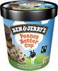 Ben & Jerry's Glace Pot Peanut Butter Cup Cacahuète - Produit