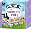 BEN & JERRY'S Glace Mini Pots The Chunks Cool-lection 4x100ml - Product